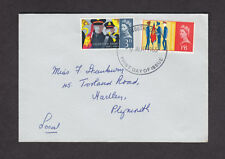 1965 SALVATION ARMY SET OF 2 SG665/6 ON  PLAIN FDC