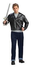 Mens Indiana Jones Costume Movie Black Jacket Pants Adult Mutt Halloween NEW