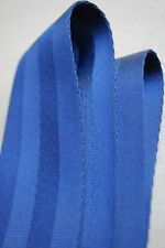 """NEW 2"""" PERIWINKLE BLUE SEAT BELT WEBBING 4 BAR  150 FT 54.5 YARDS 50 METERS"""