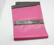 "SALE £12 300 6.5"" x 9"" 60mu Hot PINK MAILING Envelopes Postal BAGS HIGH Quality"