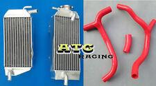 Aluminum radiator + hose HONDA CRF450R CRF450 CRF 450 R 2009 2010 2011 09 10 11