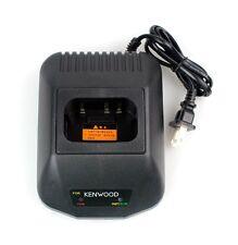 Black Radio Battery Charger 220v for Kenwood TK2207 / 2307 / 3201 / TK-3207/3200