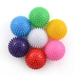 1Pc Durable PVC Spiky Massage Ball Trigger Point Sport Fitness Hand Pain Relief