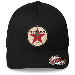 NOS vintage EXXON TIGRE GAS OIL Stitched Logo Snapback Toile Baseball Hat Cap