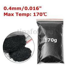 "PET 170g  6oz / 177ml 0.4mm/0.016"" Black Metal Flake Auto Car Paint Additive"