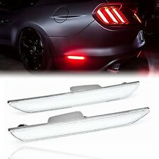 2015-2018 Ford Mustang Rear Side Panel LED Clear Marker Lights Diode Dynamics