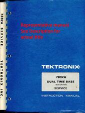 Original Tektronix Service Manual for the 7B53A/7B53AN Dual Time base
