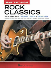 Rock Classics - Really Easy Guitar Series By Hal Leonard Corp Paperback
