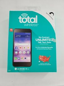 Total Wireless LG Rebel 4 LTE Pre Paid Phone