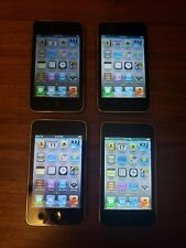 Lot of 4 Apple iPod touch (3rd Gen) 32Gb Mp3 Digital Players Vintage YouTube