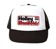 vintage Holley Manifolds Trucker Hat mesh hat black New