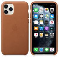 Apple Echt Original Leder Hülle Leather Case iPhone 11 Pro Saddle Brown 5,8″