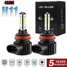 4-Sides H11 LED Headlight Kit Super Bright Bulbs 3000W 455000LM Hi/Lo Beam 6000K