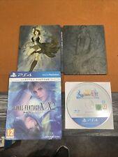 Final Fantasy X/X-2 Hd Remaster Pal Steelbook (Sony PlayStation 4, 2015)