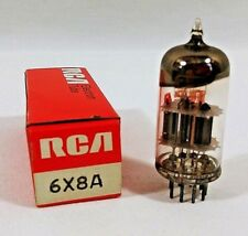 Vintage RCA Electronic Vacuum Tube 6X8A Television Radio Repair Tested
