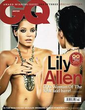 GQ UK October 2009 MEN OF THE YEAR Issue LILY ALLEN Mickey Rourke GUY RITCHIE