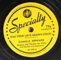 Hear! R&B 78 Camille Howard - Has Your Love Grown Cold? / Baracarolle Boogie On