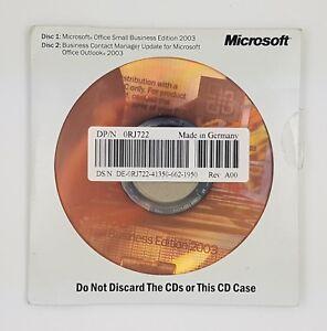 Office 2003 Small Business Edition OEM mit CD Datenträger Vollversion Englisch