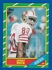 1986 Topps Jerry Rice Rookie #161 NM-MT+ San Francisco 49