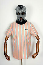 Huf Worldwide Skateboard T-Shirt Tee Jerome YDS Knit Top Coral Pink in M