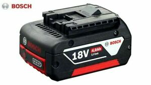 Genuine BOSCH Professional GBA 18v 4.0Ah Cordless CoolPack Lithium-Ion Battery