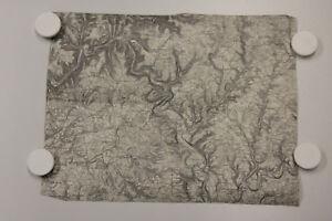 alte Historische Karte des Deutschen Reiches Landkarte 559 Mosbach um 1905 ...5