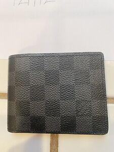Louis Vuitton Damier Graphite Slender Wallet