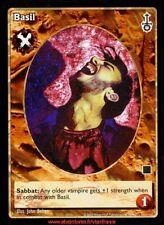 VTES V:TES - Basil - Pander / Sabbat War