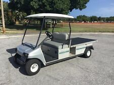 02 Club Car Carryall 6 gas Utility golf Cart Industrial Burden Carrier long bed