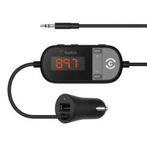 Belkin TuneCast® In-Car 3.5mm to FM Transmitter - Brand New UK