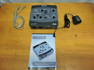 E-MU 0404 Audio/MIDI interface USB 2.0.