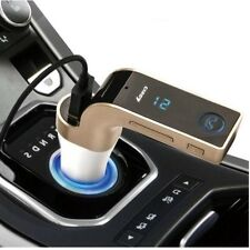Wireless Bluetooth AUX FM Transmitter Modulator USB Car Kit MP3 Player SD Remote