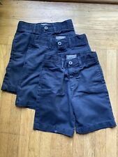 New listing Lot of 3 - Navy Dennis Uniform Shorts size 7 with adjustable waist