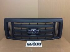2009-2012 Ford F-150 Front Black 3 Bar Grille w/ Emblem new OEM 9L3Z-8200-A