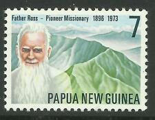 PAPUA NEW GUINEA 1976 FATHER ROSS 1v Single MNH