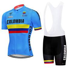 Cycling Jersey Short MTB Motocross Jacket Mountain Road Bike Shirt Colombia Wear