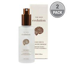 Evolution Argan Oil Hair Serum with Aloe Vera and Vitamin  (2 Pack)