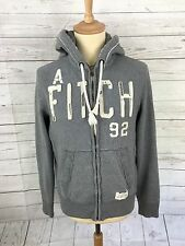 Men's Abercrombie & Fitch Hooded Jacket - Small - Grey - Great Condition