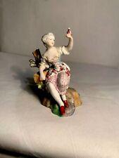 Meissen porcellain figurine Marcolini period circa 1780 ceramic antica ceramic