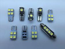 BMW Z4 E89 FULL LED Interior Lights kit set 9 pcs SMD Bulbs White Error Free