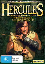 HERCULES The Legendary Journeys Season 5 + 6 (Region 4) DVD The Complete Series