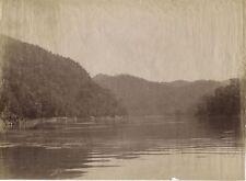 ANTIQUE PHOTO BURMA, SALWEEN RIVER. 19TH CENTURY ALBUMEN PROCESS.