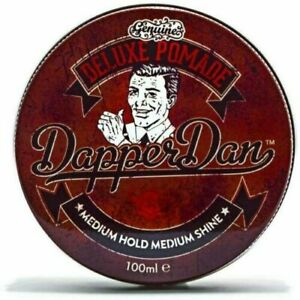 Dapper Dan Deluxe Pomade Medium Hold Hair Styling Products For Men 100ml