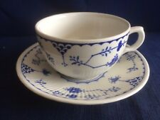 Masons Denmark Blue tea cup & saucer ( minor wear to saucer centre)