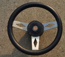 Original Vintage Fiat 500 small oba Leather Steering Wheel