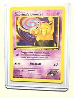 SABRINA'S DROWZEE - 1st Edition Gym Heroes  - 92/132 - Common - Pokemon - NM