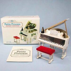 IDEAL Petite Princess Fantasy Furniture Dollhouse Royal Grand Piano 4425-5