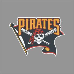 Pitsburgh Pirates #4 MLB Team Pro Sports Vinyl Sticker Decal Car Window Wall