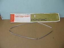 NOS PONTIAC DOOR GUARDS 1971 1972 BONNEVILLE GRAND VILLE CATALINA 2-DOOR   9