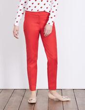 Boden Black Richmond Cotton 7/8 Trousers Size 12r WM453